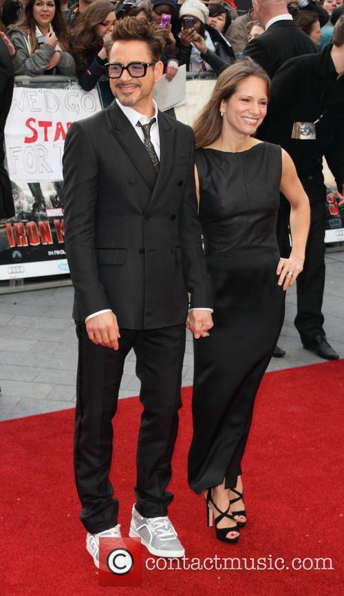 Susan Downey and Robert Downey Jr 6