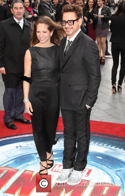 Susan Downey and Robert Downey Jr 7