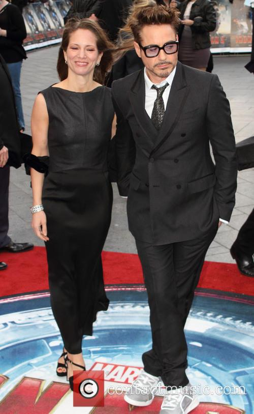 Susan Downey and Robert Downey Jr 8