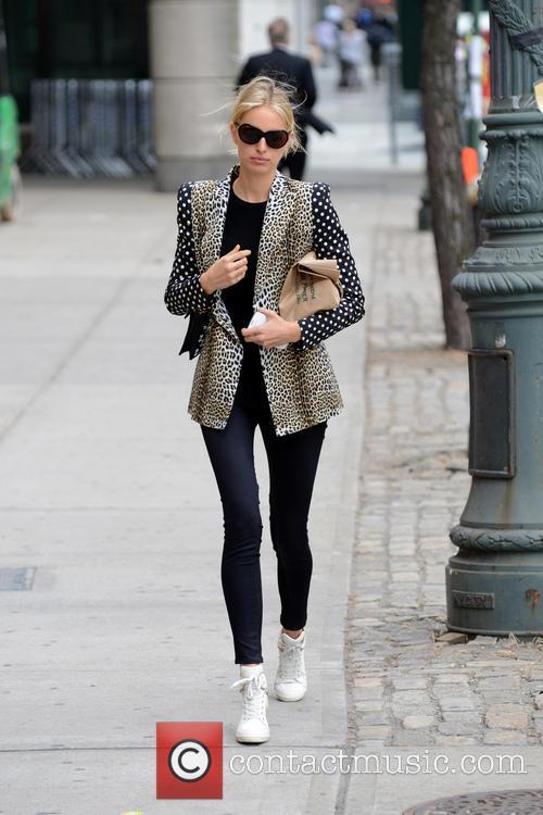 Karolina Kurkova seen out and about in Manhattan