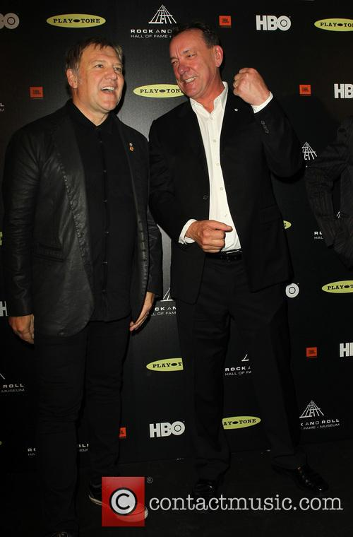 Alex Lifeson and Neil Peart 7