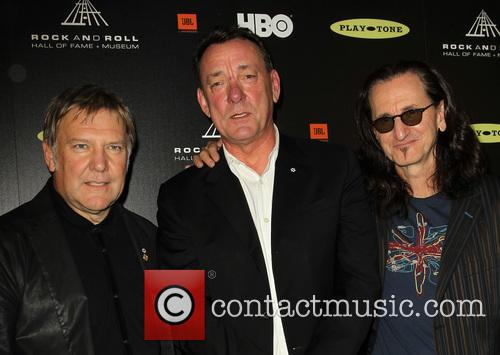 Alex Lifeson, Neil Peart and Geddy Lee 3