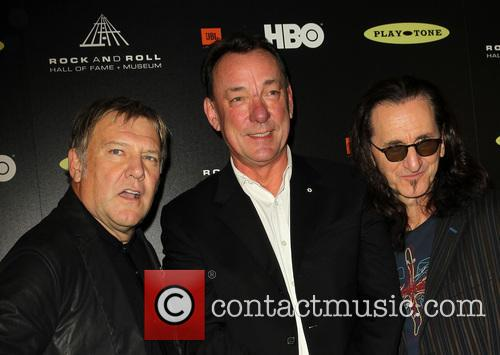 Alex Lifeson, Neil Peart and Geddy Lee 4