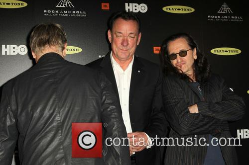 Alex Lifeson, Neil Peart and Geddy Lee 5