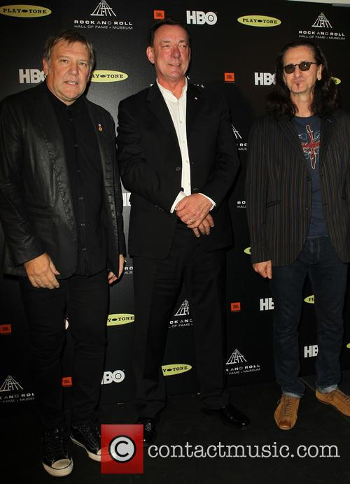 Alex Lifeson, Neil Peart and Geddy Lee 6