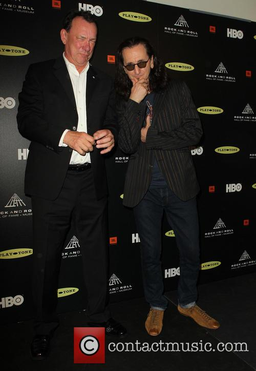Neil Peart and Geddy Lee 3