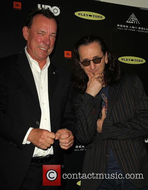 Neil Peart and Geddy Lee 1