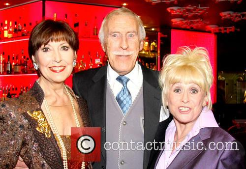 Anita Harris, Bruce Forsyth and Barbara Windsor