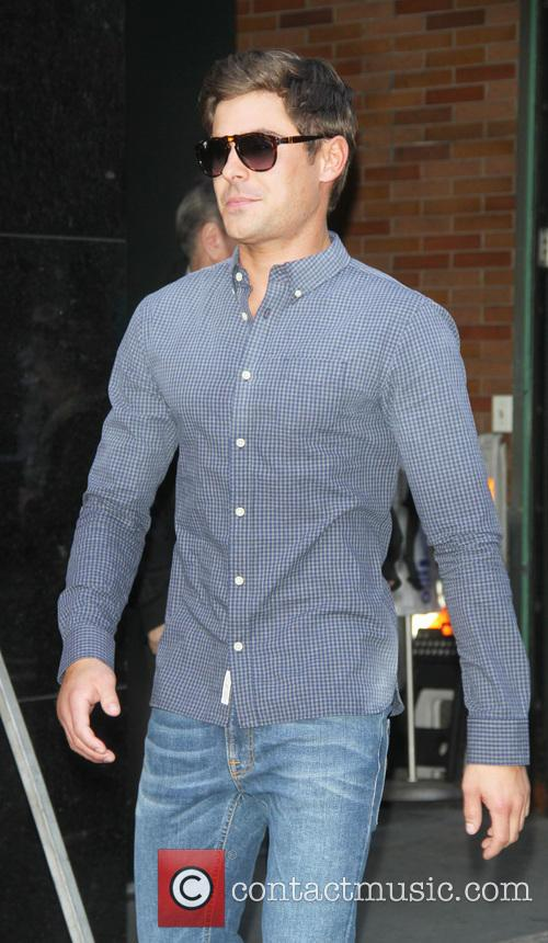 zac efron celebs at good morning america 3617062