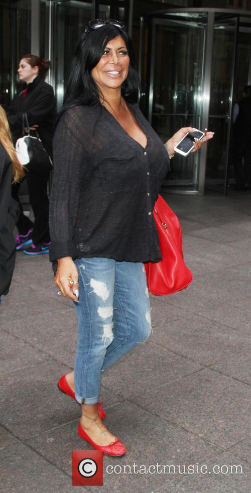 angela 'big ang' raiola celebrities outside siriusxm 3617237