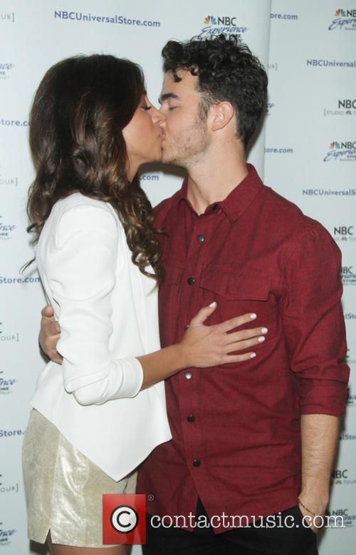 Daniella and Kevin Jonas