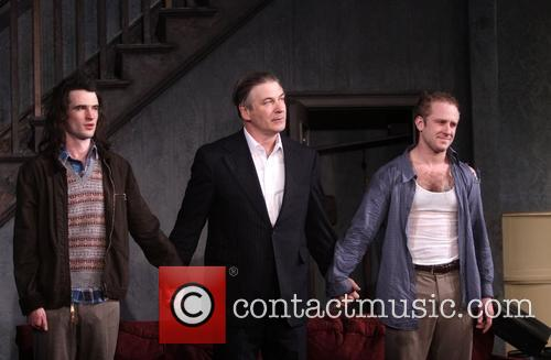 Tom Sturridge, Alec Baldwin and Ben Foster 8