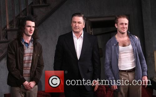 Tom Sturridge, Alec Baldwin and Ben Foster 9