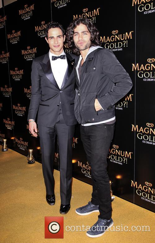 Zac Posen and Adrian Grenier 3