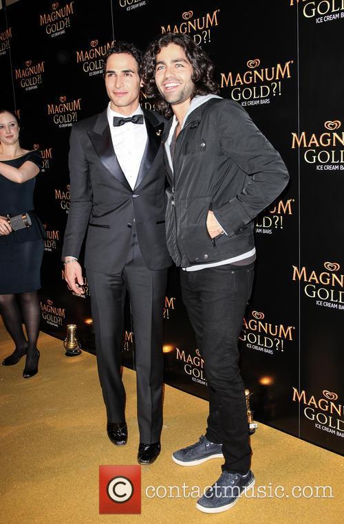 Zac Posen and Adrian Grenier 8