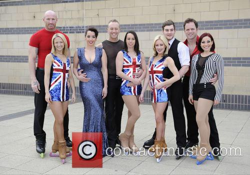 Gareth Thomas, Jenna Smith, Ruth Lorenzo, Daniel Whiston, Beth Tweddle, Matt Lapinskas, Brianne Delcourt and Kyran Bracken