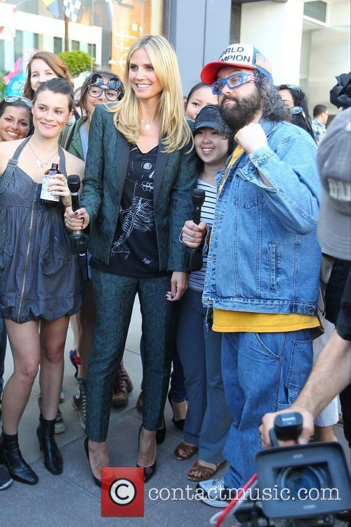 Heidi Klum and Judah Friedlander 8