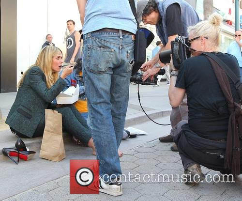Heidi Klum and Judah Friedlander 4
