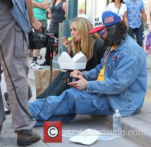 Heidi Klum and Judah Friedlander 18