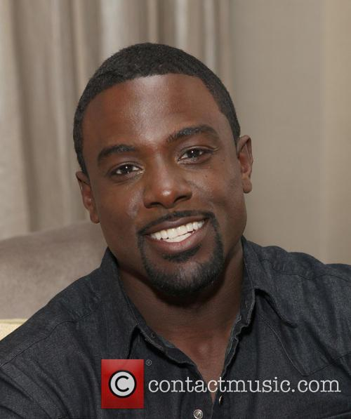 Lance Gross with Magic Shave