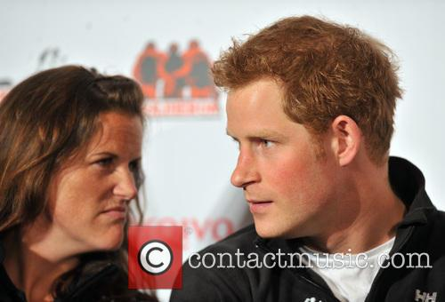 Prince Harry and Kate Philp 1