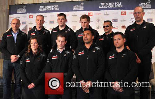 Prince Harry, Edward Parker, Ivan Castro, Kate Philp, Inge Solheim, Duncan Slater, Ibrar Ali and Guy Disney 10