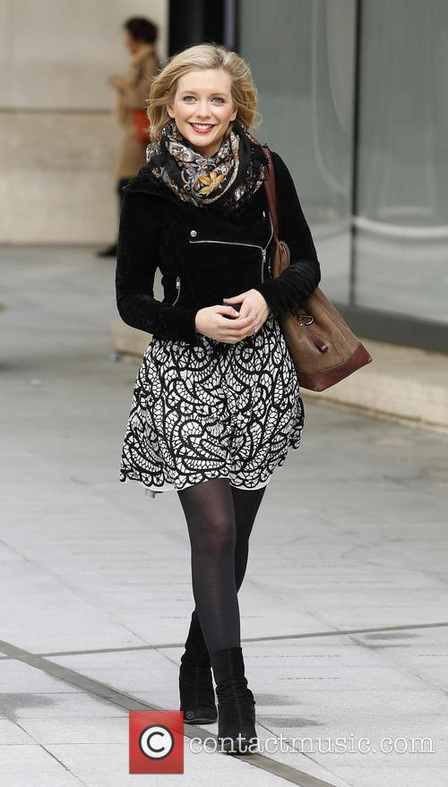 Rachel Riley at BBC Radio 2 studios