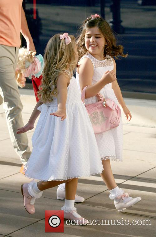 Rosie Mcclelland and Sophia Grace Brownlee 8