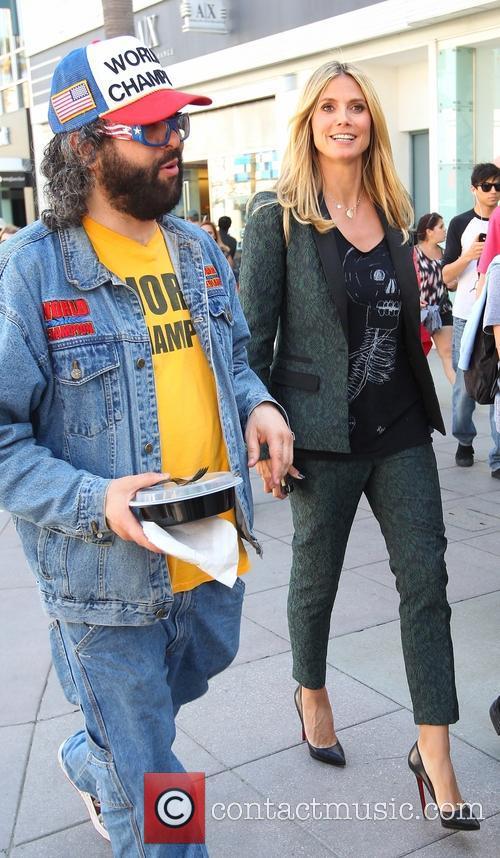 Heidi Klum and Judah Friedlander 25