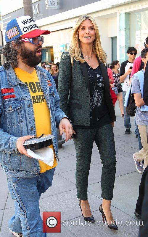 Heidi Klum and Judah Friedlander 26