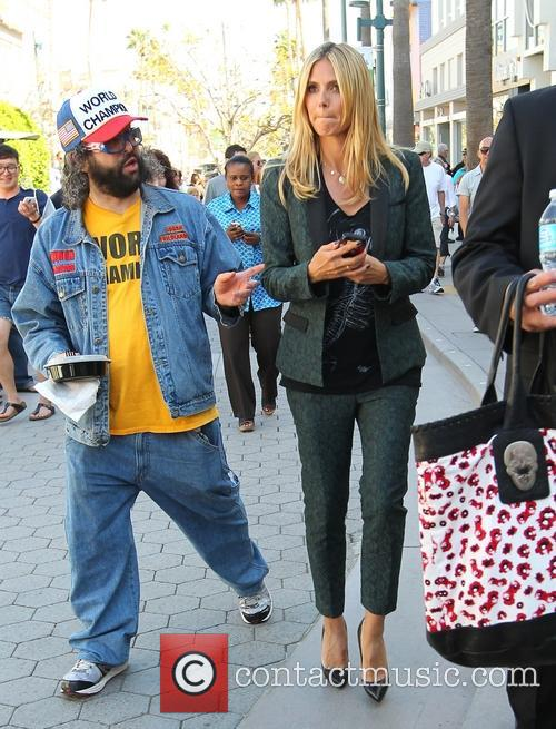Heidi Klum and Judah Friedlander 39