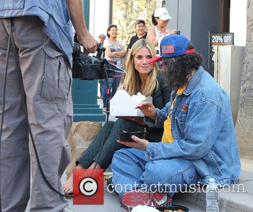 Heidi Klum and Judah Friedlander 48
