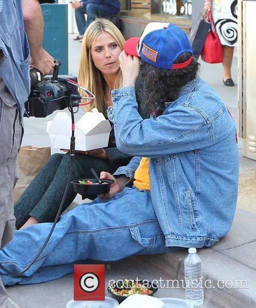 Heidi Klum and Judah Friedlander 49