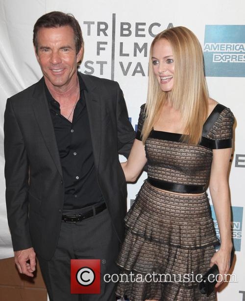 Dennis Quaid and Heather Graham 7