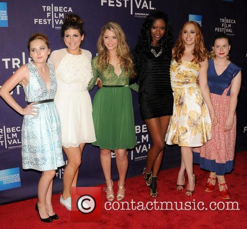 Mia Rose Frampton, Molly Tarlov, Sasha Pieterse, Xosha Roquemore, Andrea Bowen and Jessie Ennis 6
