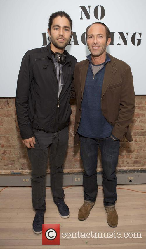 Adrian Grenier and Peter Glatzer 6