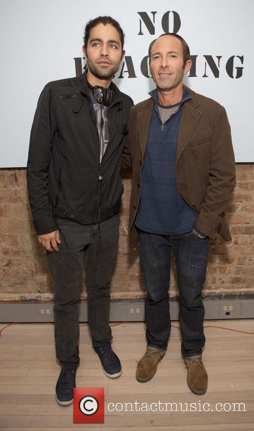 Adrian Grenier and Peter Glatzer