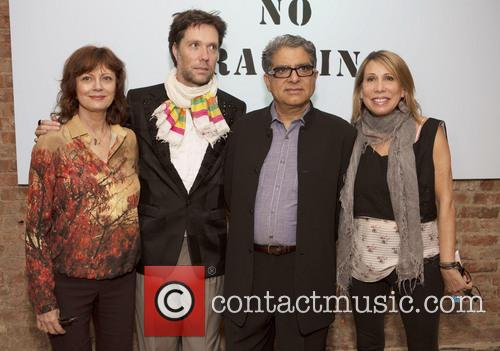 Susan Sarandon, Rufus Wainwright, Deepak Chopra and Paulette Cole 4
