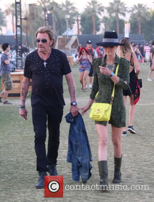Johnny Hallyday and Laeticia Hallyday 12