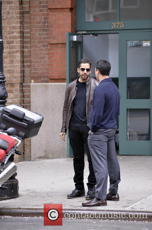 David Blaine in Manhattan