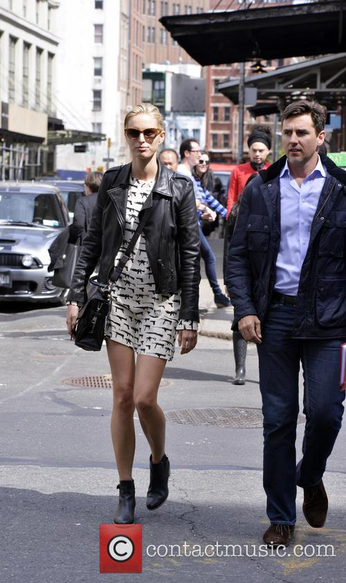 Model Karolina Kurkova and husband Archie Drury out...