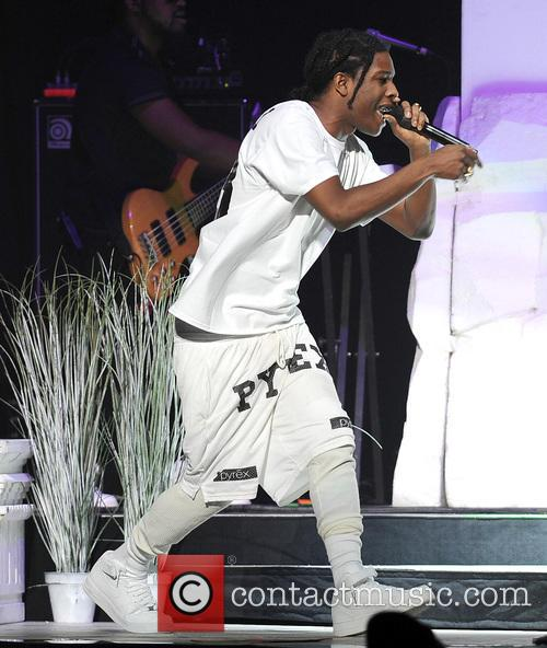 A Rocky performs live