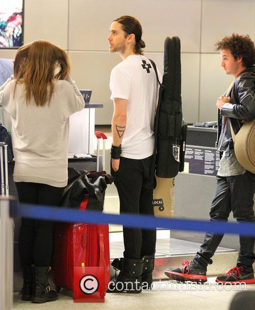Celebrities at Los Angeles International (LAX) airport