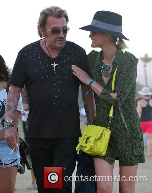 Johnny Hallyday and Laeticia Hallyday 15