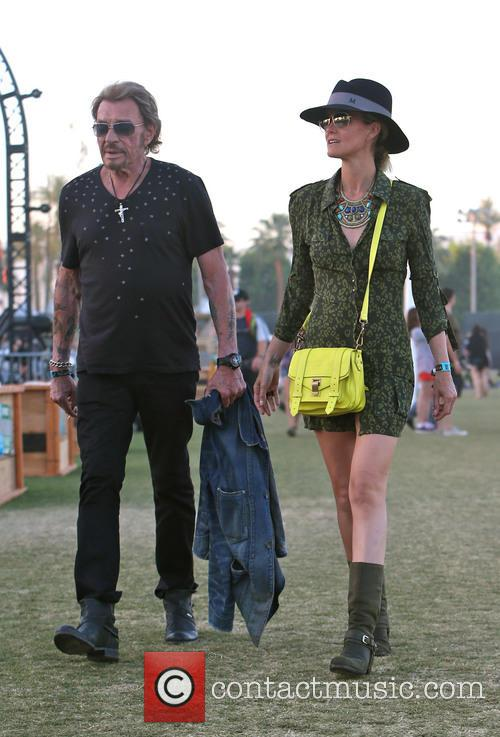 Johnny Hallyday and Laeticia Hallyday 18