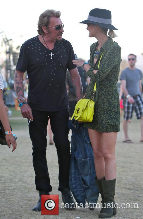 Johnny Hallyday and Laeticia Hallyday 20
