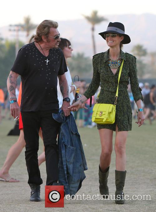 Johnny Hallyday and Laeticia Hallyday 25