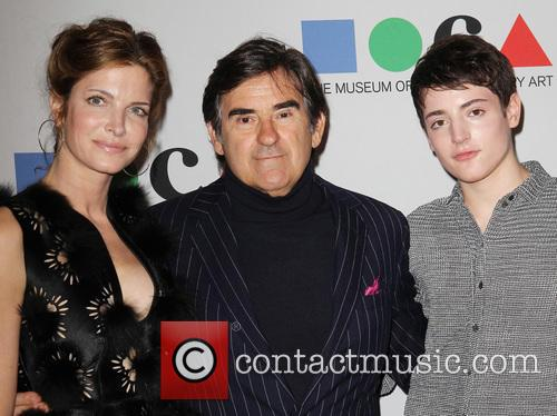 Stephanie Seymour, Peter Brant and Harry Brant 3