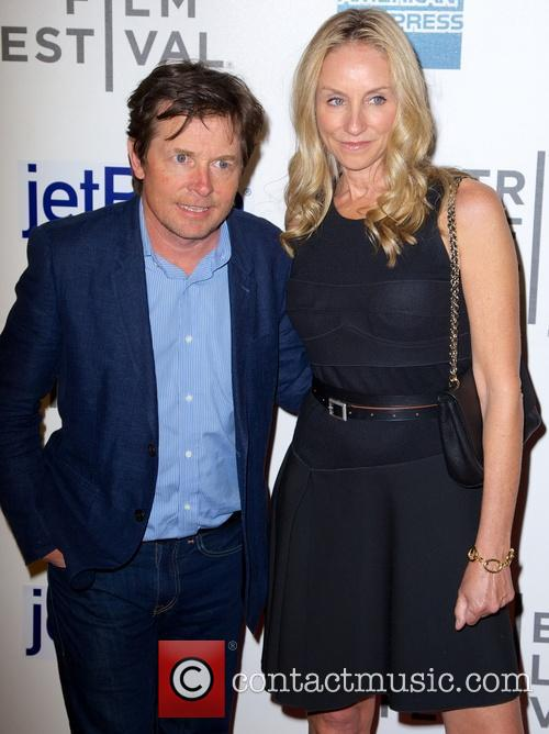 Michael J Fox and Tracy Pollan 1