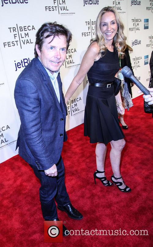 Tracy Pollen and Michael J. Fox 1